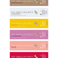 The Smelling Bees Fragrance Line for Andrea Bifulco and The Society of Scent. Very honored to have created the labels for the packages! Learn more at nose-u.com. Adobe Illustrator.